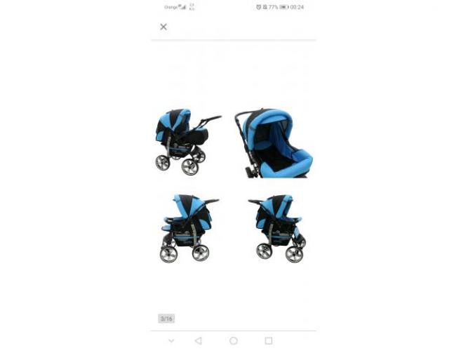 Grajewo ogłoszenia: Witam sprzedam wózek wielofunkcyjny styl podobny jak na zdj kolol...