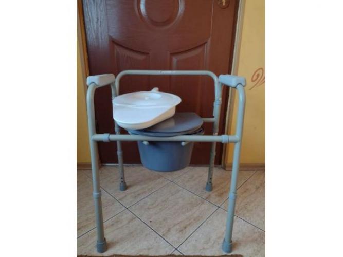 Grajewo ogłoszenia: Sprzedam krzesło toaletowe nowe + kaczka gratis