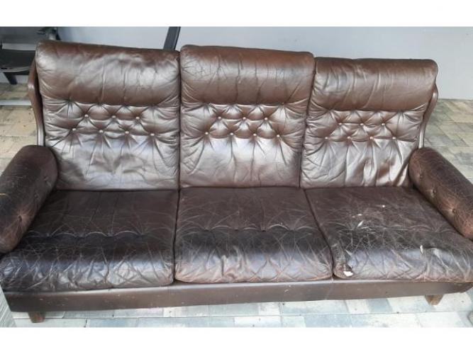 Grajewo ogłoszenia: oddam sofę skorzana