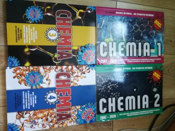 Grajewo ogłoszenia: Sprzedam książki witowskiego z chemii, widoczne na zdjęciu...
