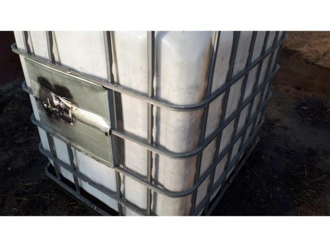 Grajewo ogłoszenia: Mauzer zbiornik na wodę 1000 litry w bdb stanie.