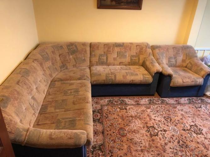 Grajewo ogłoszenia: Narożniki z funkcją spania + fotel  Do zabrania osobiscie w...