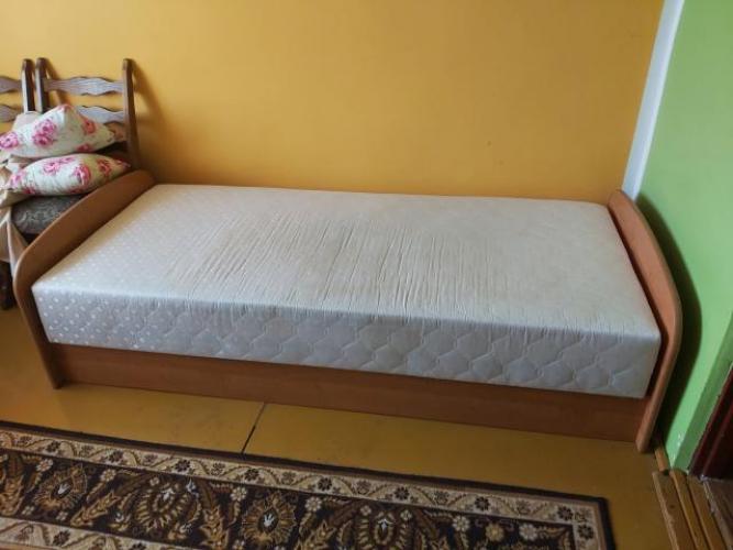Grajewo ogłoszenia: Sprzedam używane łóżko z materacem ortopedycznym odbiór osobisty.