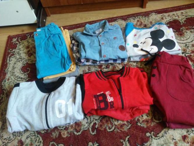 Grajewo ogłoszenia: Sprzedam/oddam ubranka chłopiece w bardzo dobrym stanie w rozm....