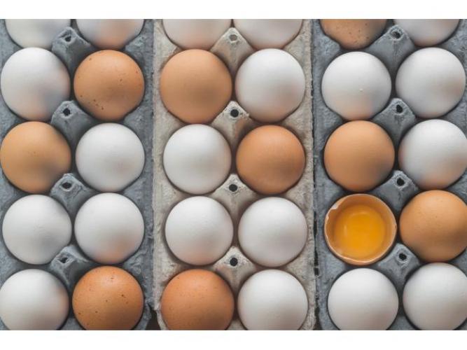 Grajewo ogłoszenia: Sprzedam jaja wiejskie od kurek chodzących po podwórku świeże...