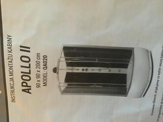 Grajewo ogłoszenia: Sprzedam nową kabinę prysznicową nie używana, wymiary 90/90/200...