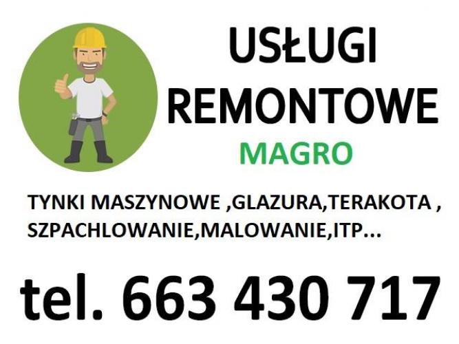 Grajewo ogłoszenia: usługi remontowe : -kompleksowe remonty łazienek, a także...