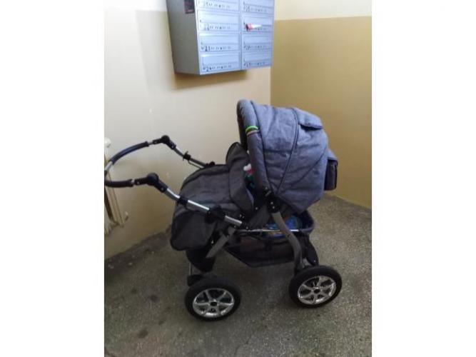 Grajewo ogłoszenia: Sprzedam wózek 2w1 150zl.stan dobry