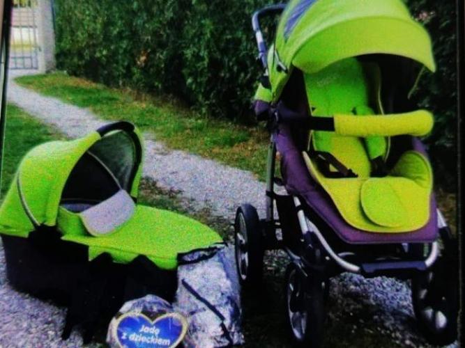 Grajewo ogłoszenia: Sprzedam wozek 2w1 firmy x-lander. Wozek po 1 dziecku kupiony jako...