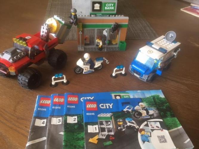 Grajewo ogłoszenia: przedam zestawy klockow LEGO (wszystkie używane, z instrukcjami,...