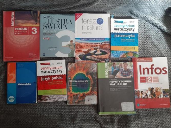 Grajewo ogłoszenia: Sprzedam książki do liceum. Cena 10-15 zł. Cena zależy od...