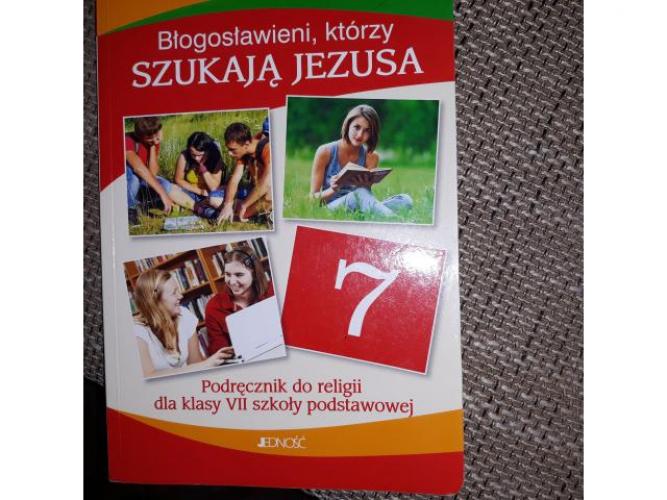 Grajewo ogłoszenia: Sprzedam podręcznik do religii kl 7 szkoły.podst.