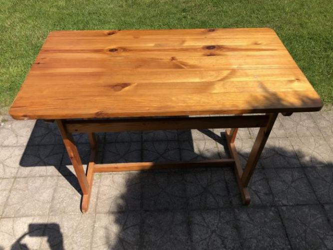 Grajewo ogłoszenia: Witam, sprzedam ładny zadbany stół kuchenny z drzewa sosnowego o...
