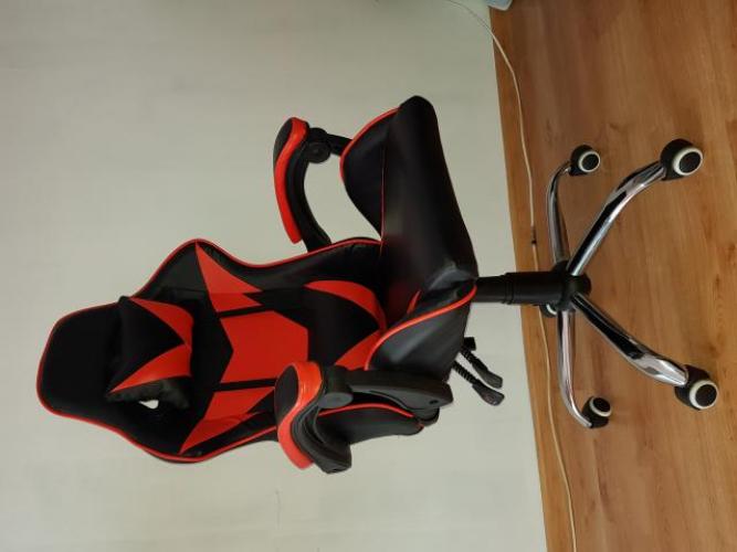Grajewo ogłoszenia: Sprzedam prawie nowy fotel gamingowy w idealnym stanie, kupiony 5...