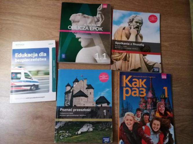 Grajewo ogłoszenia: Sprzedam książki do LO Grajewo do klasy pierwszej (po ósmej...