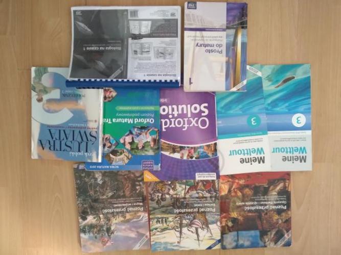 Grajewo ogłoszenia: Sprzedam książki do 3 klasy technikum. Niemiecki - podręcznik...