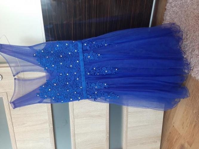 Grajewo ogłoszenia: Sprzedam sukienkę z tiulu chabrową rozmiar M,L,stan bardzo...