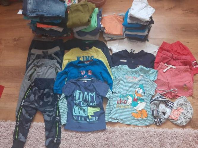 Grajewo ogłoszenia: Sprzedam ubrania dziecięce rozmiar 92 ,spodnie koszulki, bluzki...