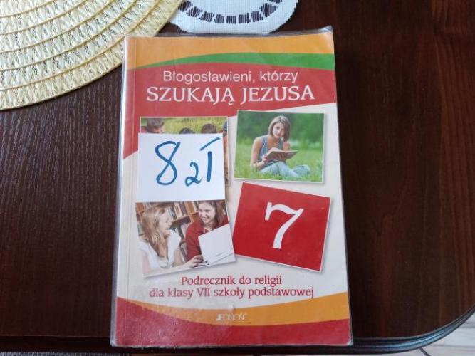 Grajewo ogłoszenia: Sprzedam książkę do religii klasa 7 szkoła podstawowa.