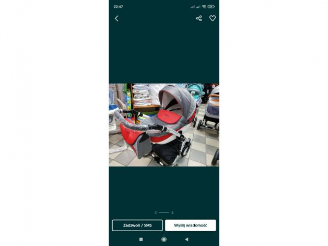 Grajewo ogłoszenia: Sprzedam wózek 3w1 widoczny na zdjeciu