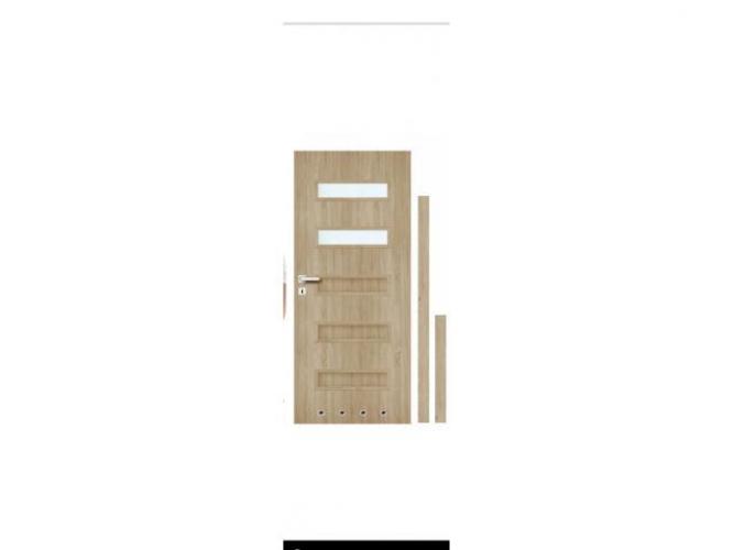 Grajewo ogłoszenia: Sprzedam drzwi łazienkowe kolor dąb Sonoma , drzwi ucięte 2cm...