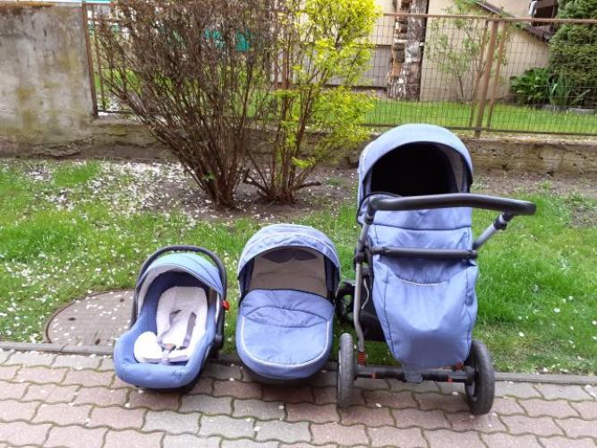 Grajewo ogłoszenia: Sprzedam wózek dla dziecka jak zdjęciu ,3w1 mało używany. Cena...