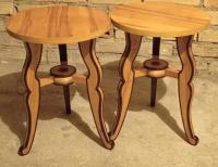 Grajewo ogłoszenia: Sprzedam dwa drewniane taborety z ozdobnymi nóżkami. Cena: 25...