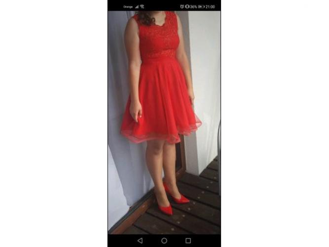 Grajewo ogłoszenia: Sprzedam sukienkę widoczna na zdjęciu. Założona tylko raz w...