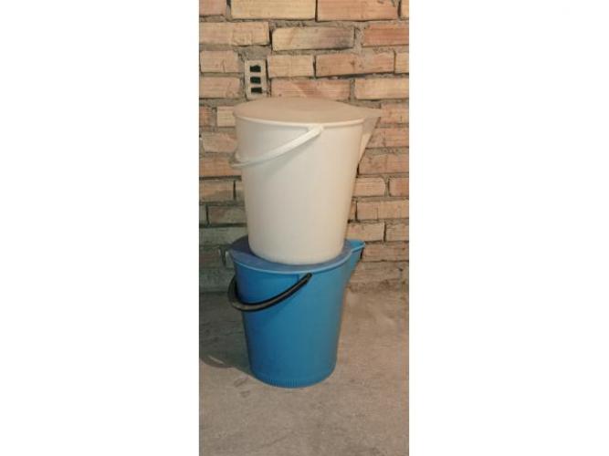 Grajewo ogłoszenia: Sprzedam dwa plastikowe wiadra 15-litrowe z pokrywami. Np. na ryby,...