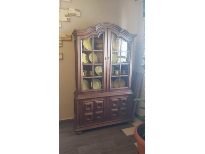 Grajewo ogłoszenia: Sprzedam drewnianą witrynę w bardzo dobrym stanie, 620zł,...