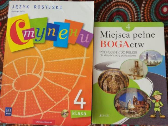 Grajewo ogłoszenia: Sprzedam książki do klasy 4 . Język rosyjski 10 zł. Religia 5 zł.