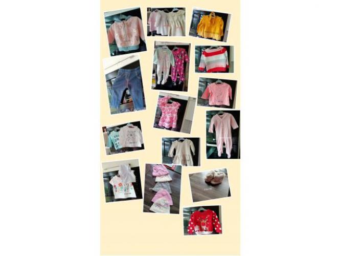 Grajewo ogłoszenia: Sprzedam ubranka po Córce stan b.dobry