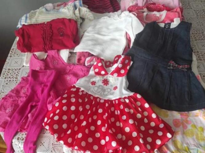 Grajewo ogłoszenia: Witam sprzedam ubranka dla dziewczynki 0 do 3mies w bardzo dobrym...