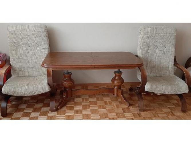 Grajewo ogłoszenia: Sprzedam 2 fotele z ławą.