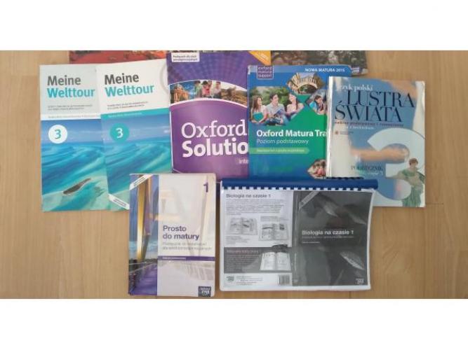 Grajewo ogłoszenia: Sprzedam książki do 3 klasy technikum Niemiecki - podręcznik i...
