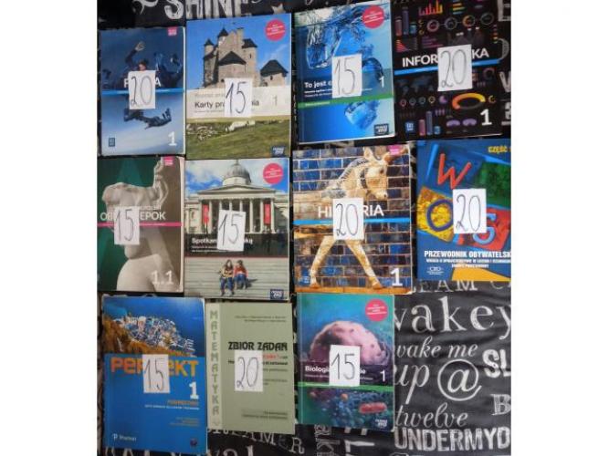 Grajewo ogłoszenia: Sprzedam w IDEALNYM STANIE książki do 1 liceum/technikum