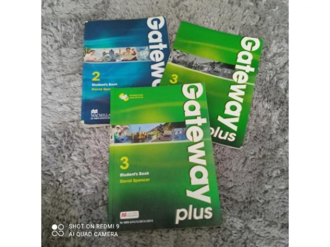 Grajewo ogłoszenia: Sprzedam! Gateway 3 podręcznik 20 zł Gateway 3 ćwiczenie 20...