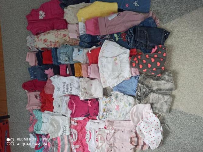Grajewo ogłoszenia: Sprzedam zestaw ubrań dla dziewczynki widoczny na zdjęciu....