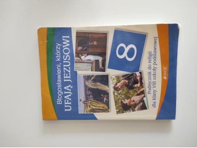 Grajewo ogłoszenia: Tanio sprzedam książkę do religii klasa 8
