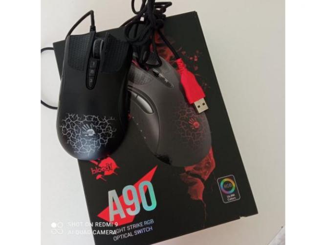 Grajewo ogłoszenia: Sprzedam myszkę  bloody A90 light strike rgb optical switch....
