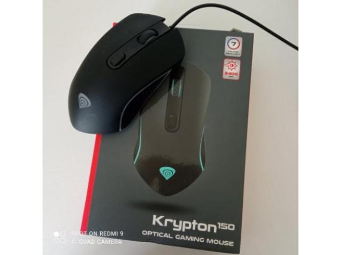 Grajewo ogłoszenia: Sprzedam myszkę Genesis Krypton 150  Myszka używana około 3...