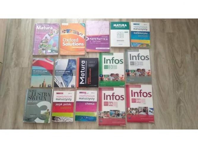 Grajewo ogłoszenia: Sprzedam książki widoczne na zdjęciu do I Liceum...