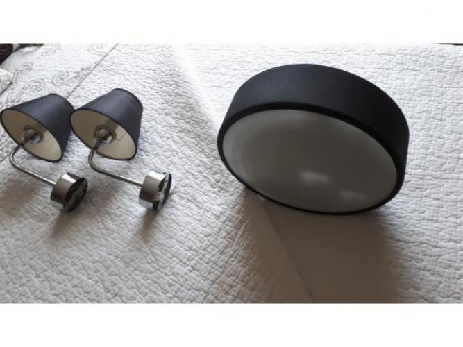 Grajewo ogłoszenia: Sprzedam zestaw oświetleniowy do łazienki.  Plafon i 2 lampki....