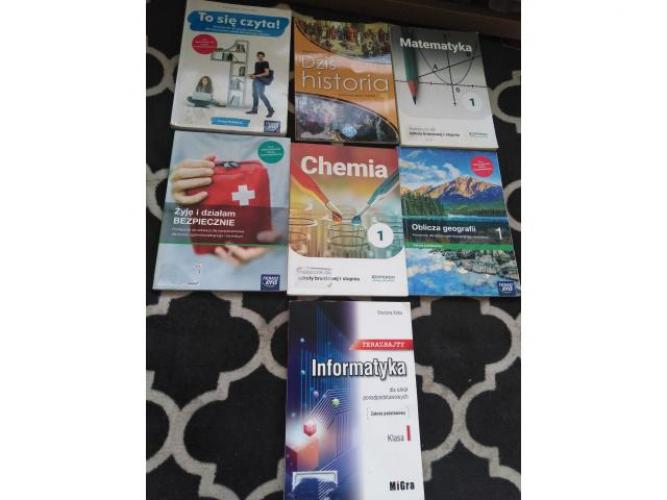 Grajewo ogłoszenia: Sprzedam książki do klasy 1 zawodowej wiencej informacji udziele...