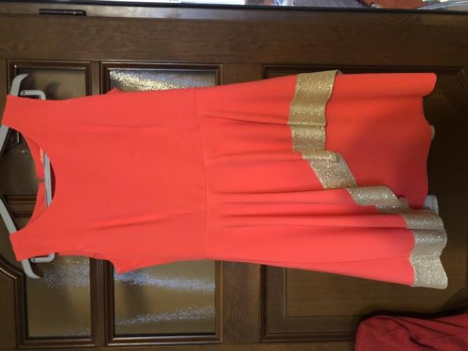 Grajewo ogłoszenia: Sukienka rozmiar 40. Dobrze zakrywa brzuszek:)