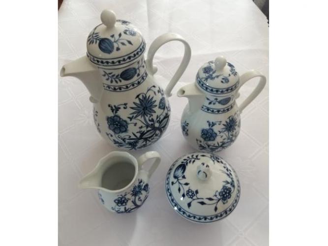Grajewo ogłoszenia: Sprzedam zestaw porcelanowy firmy KAHLA Zwiebelmuster.