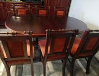 Grajewo ogłoszenia: Sprzedam w bardzo dobrym stanie rozkładany stół i 6 krzeseł.