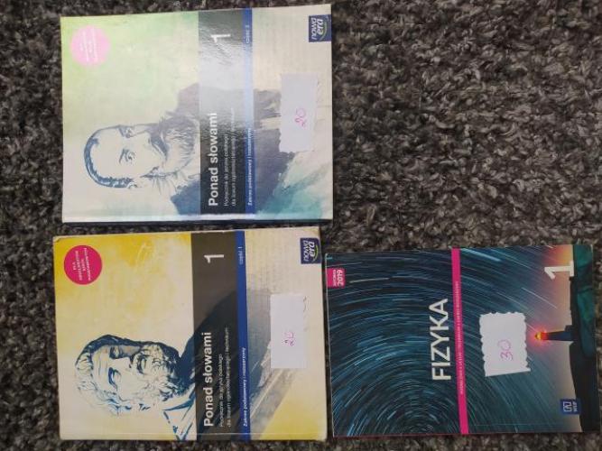 Grajewo ogłoszenia: Sprzedam podręczniki.  Tel. 510 206 968