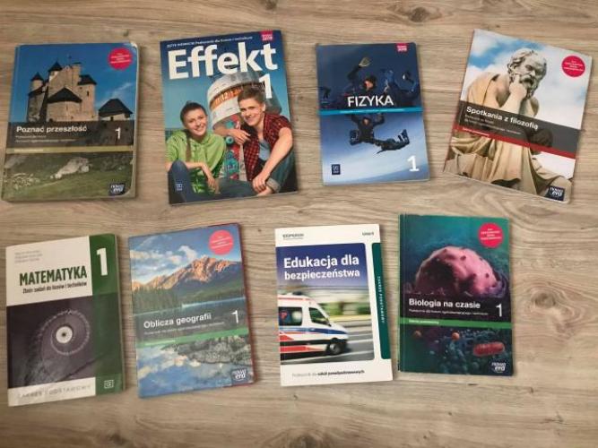 Grajewo ogłoszenia: Sprzedam książki do 1 klasy liceum w Grajewie