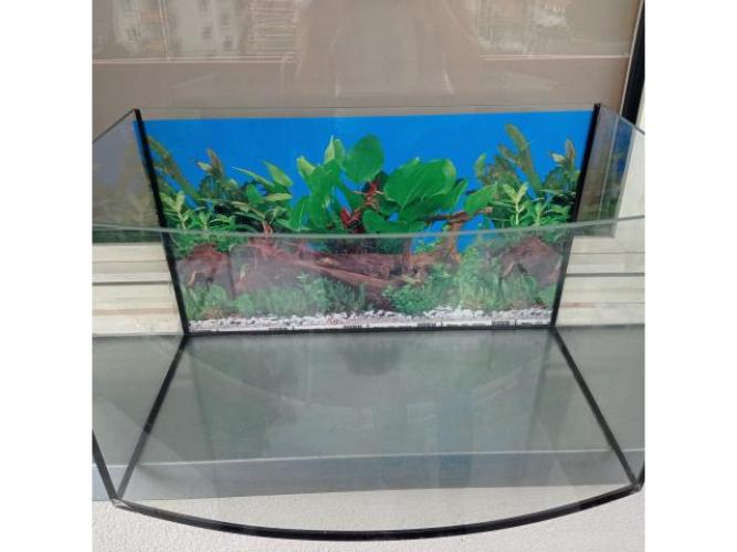 Grajewo ogłoszenia: Sprzedam szczelne akwarium panoramiczne. Używane było dla rybek....